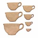 Teacup Craft Shape