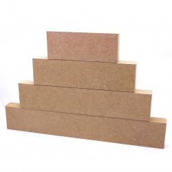 Free Standing Stacking Blocks (4 Pieces)