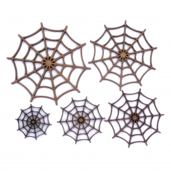 Spider Web Craft Shape